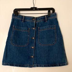 Zara Woman Jeans Skirt